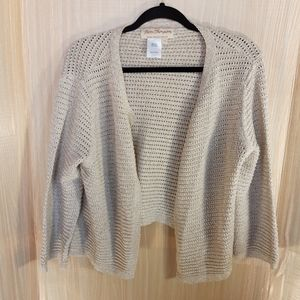 Norm Thompson open front cardigan.   1X
